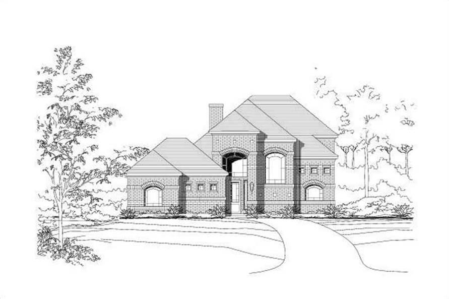 Main image for house plan # 16020