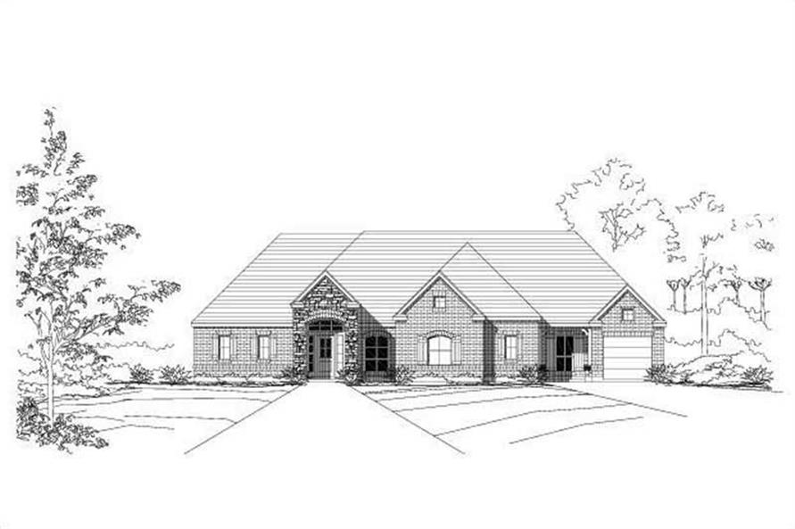 Main image for house plan # 16022