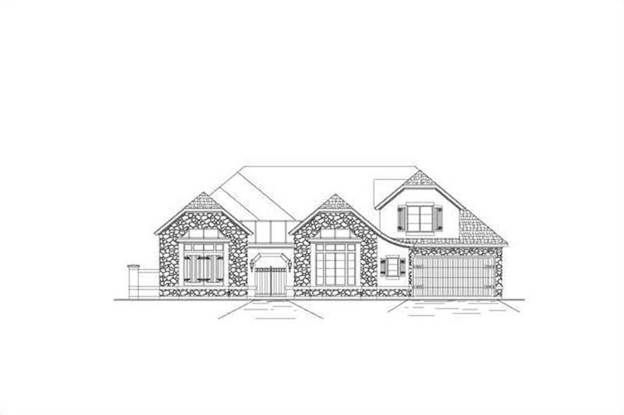 Main image for house plan # 16390