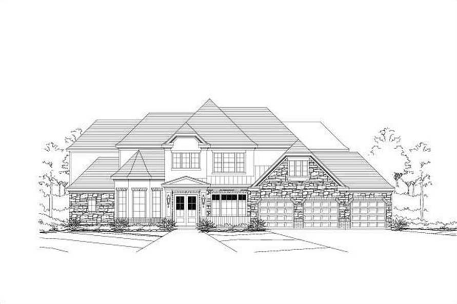 Main image for house plan # 16074