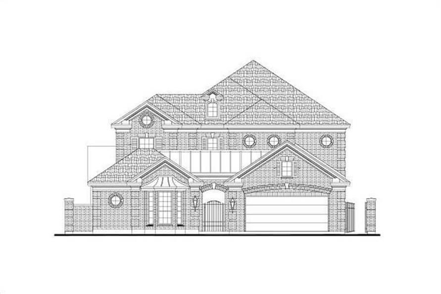 Main image for house plan # 15921