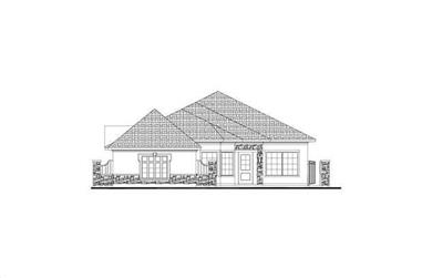 3-Bedroom, 2699 Sq Ft Tuscan House Plan - 156-1113 - Front Exterior