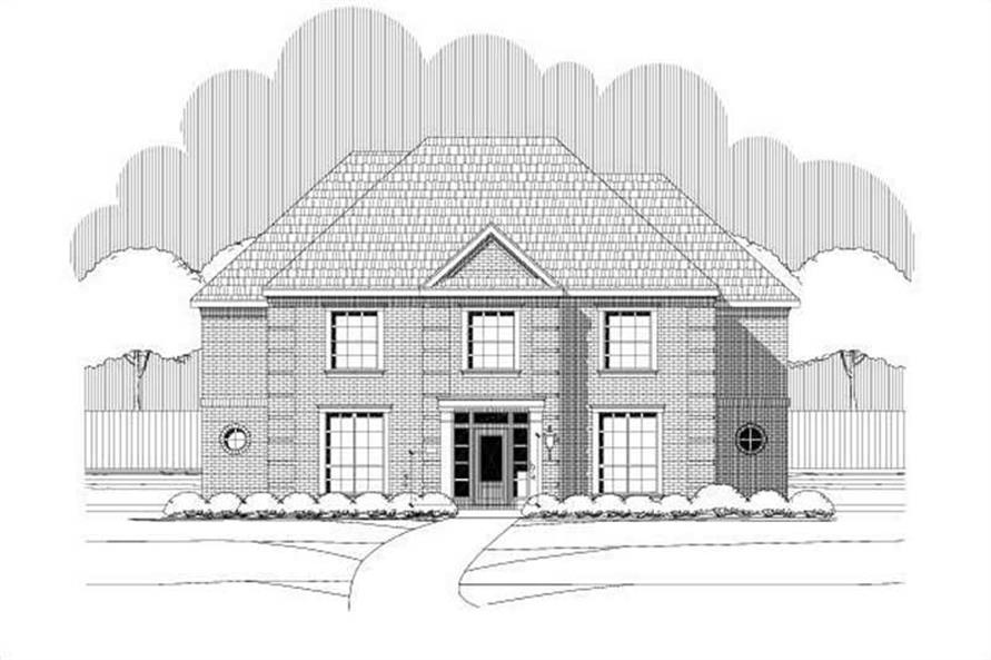 6-Bedroom, 4340 Sq Ft Country House Plan - 156-1114 - Front Exterior
