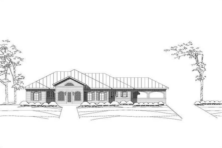 Main image for house plan # 15991