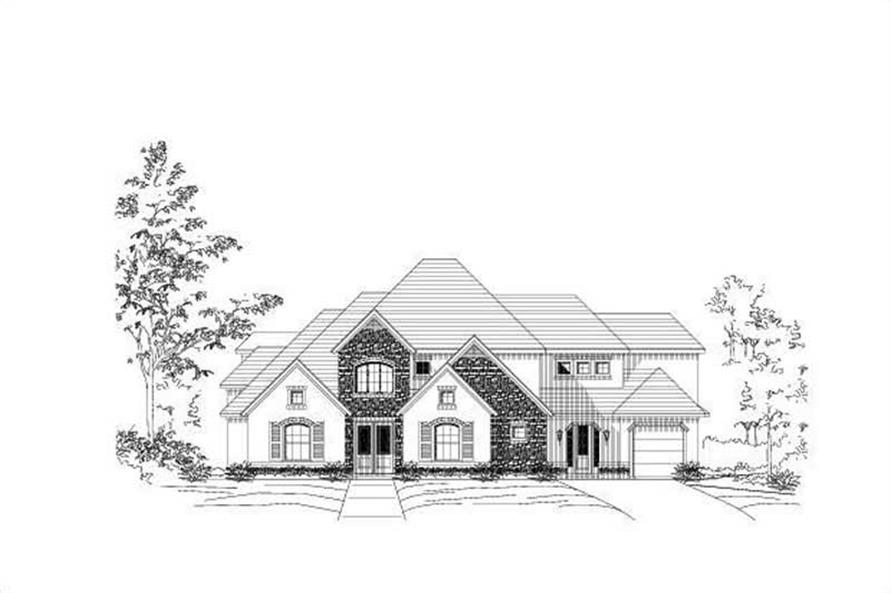 Main image for house plan # 15997