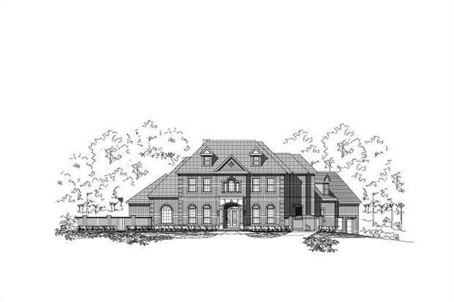 Main image for house plan # 15770