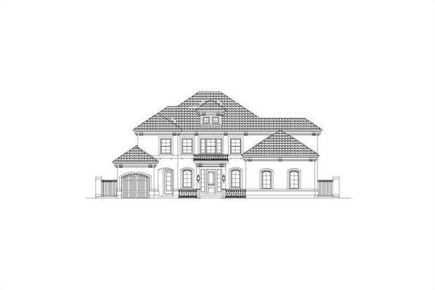 Main image for house plan # 15695