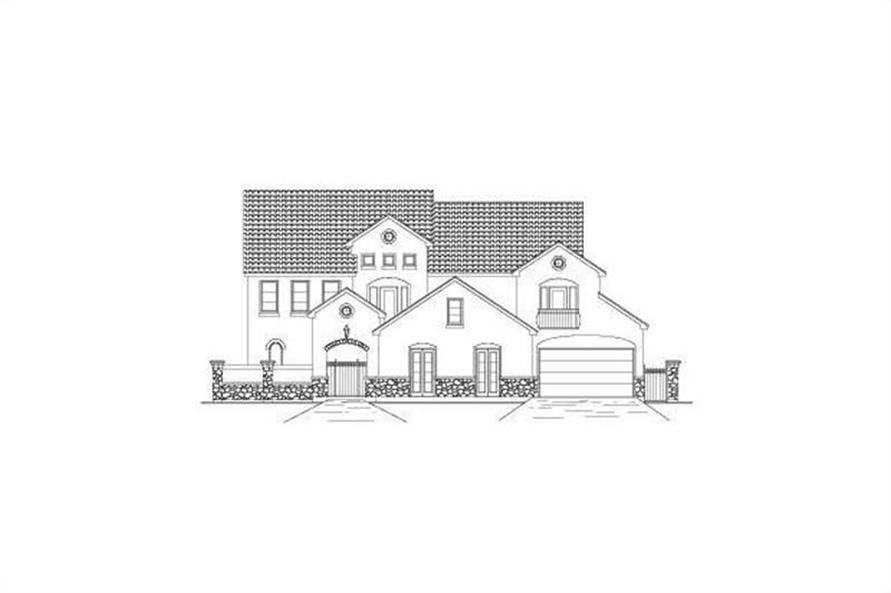 Main image for house plan # 15728