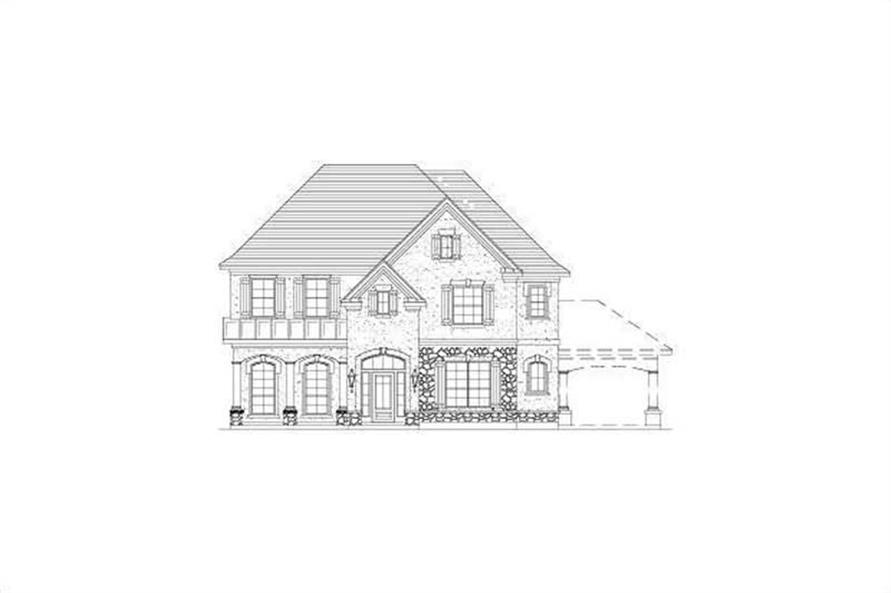 Main image for house plan # 15733