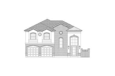 3-Bedroom, 3070 Sq Ft Traditional House Plan - 156-1133 - Front Exterior