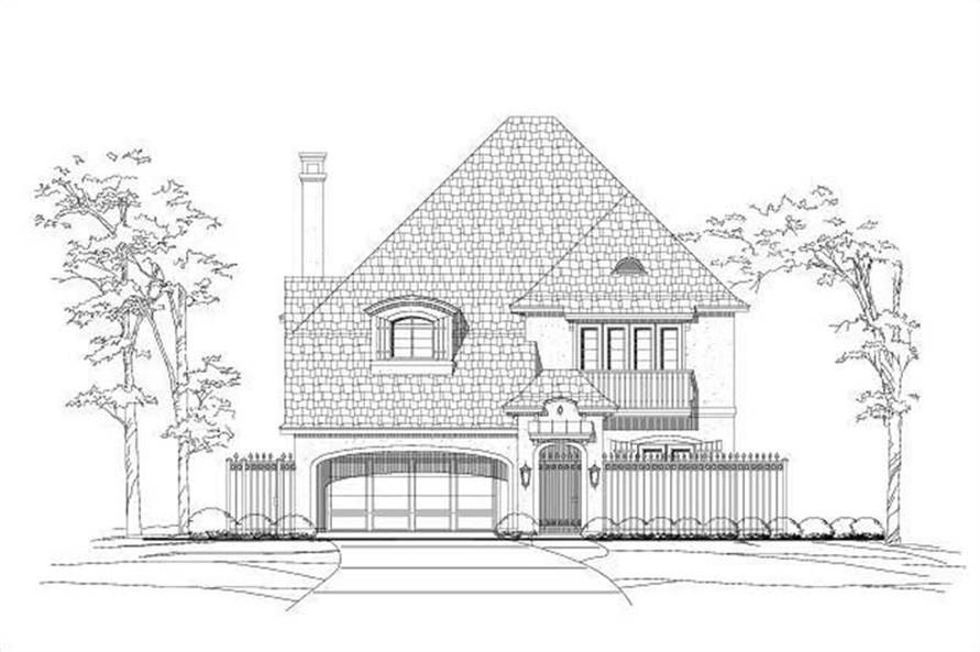 Main image for house plan # 16107