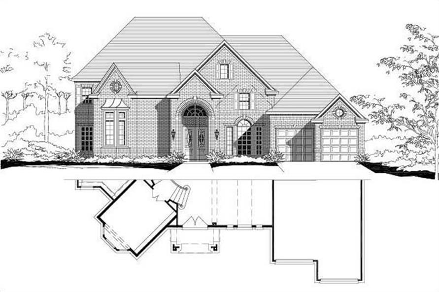 Main image for house plan # 15639