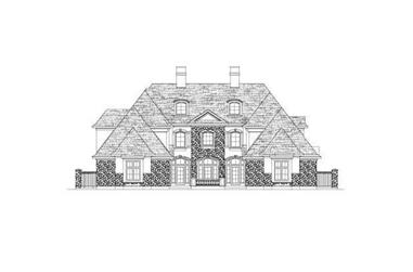 Main image for house plan # 15863