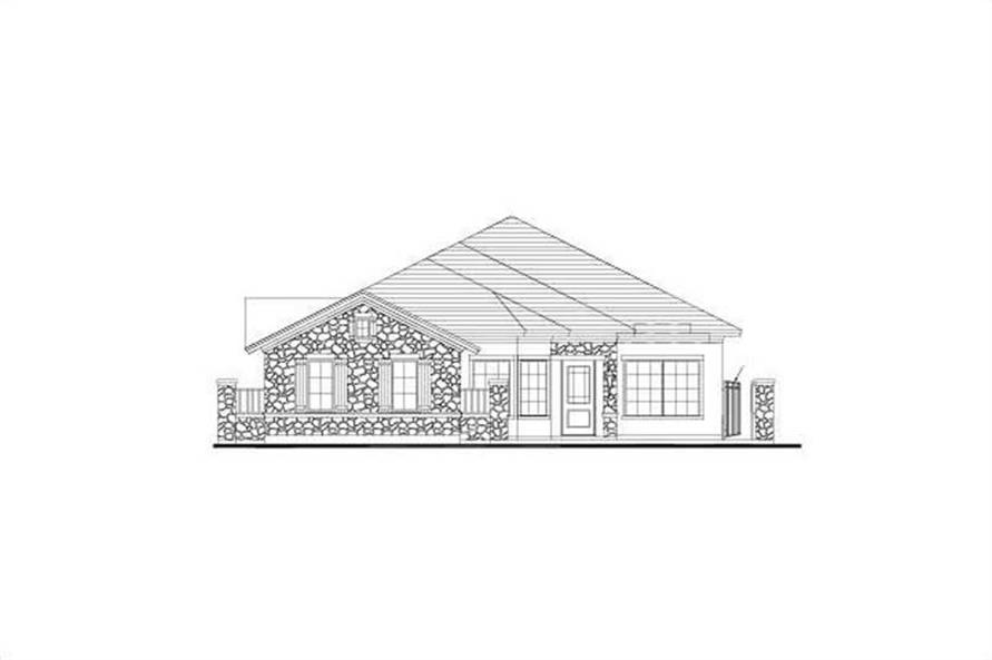 3-Bedroom, 2699 Sq Ft House Plan - 156-1150 - Front Exterior
