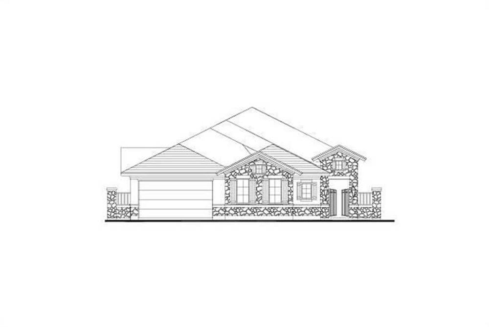 Main image for house plan # 15938