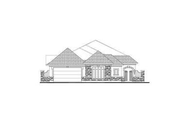 3-Bedroom, 3014 Sq Ft Tuscan Home Plan - 156-1153 - Main Exterior