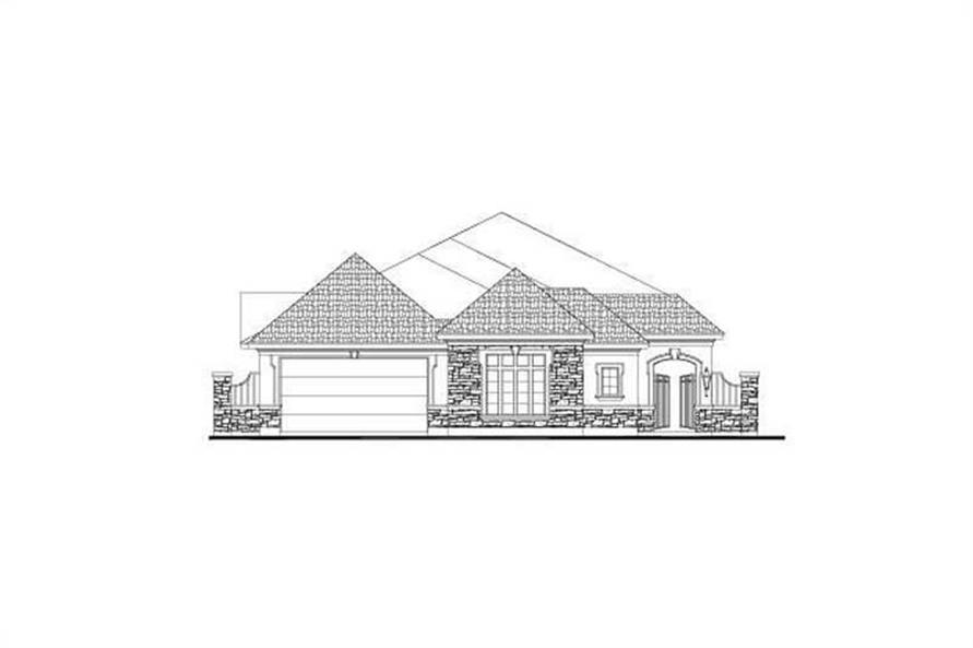 Main image for house plan # 15940