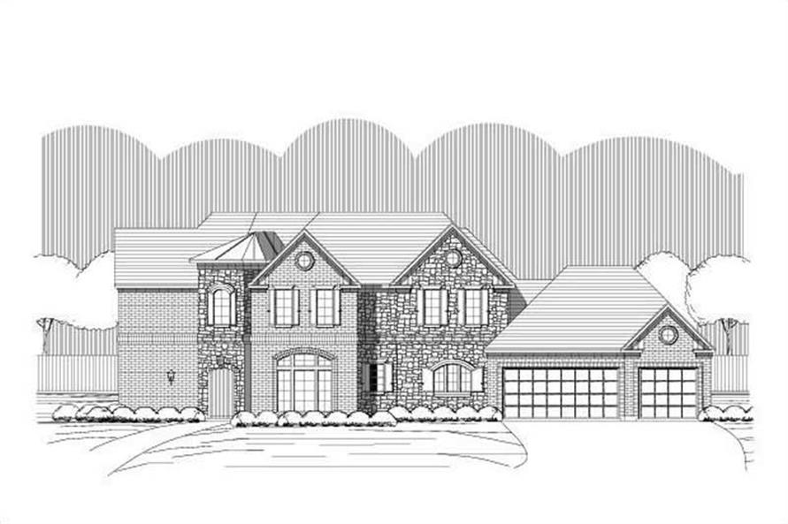 Main image for house plan # 15978