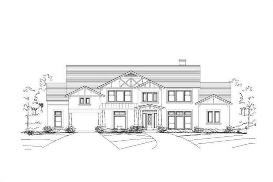 Main image for house plan # 15992