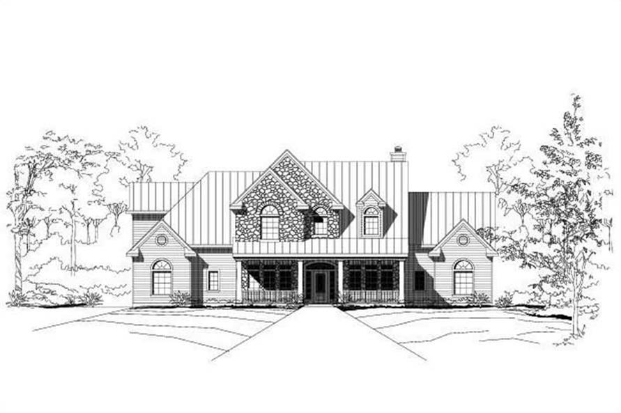 Main image for house plan # 15996