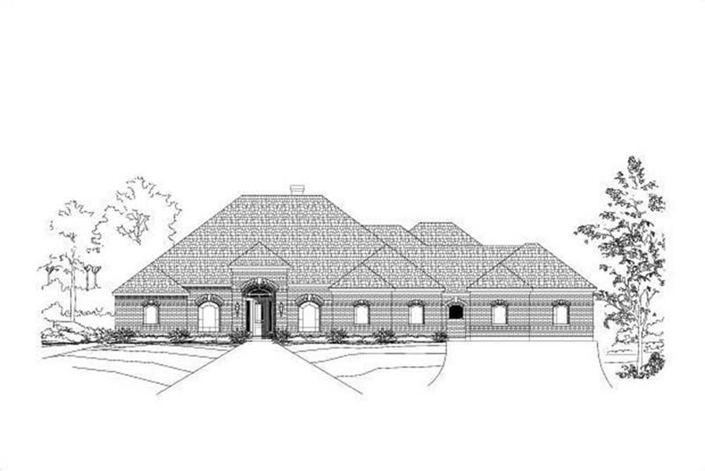 Main image for house plan # 15999