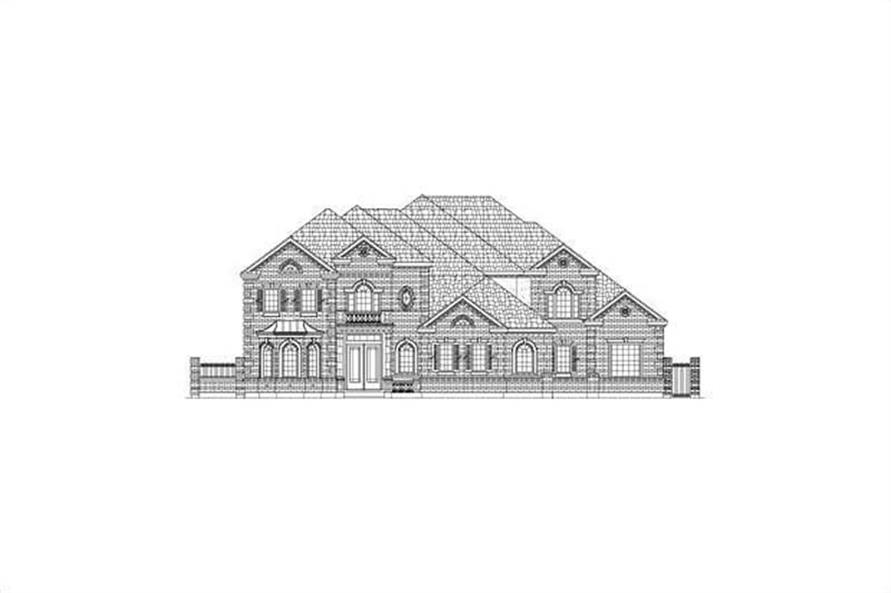 Main image for house plan # 15877