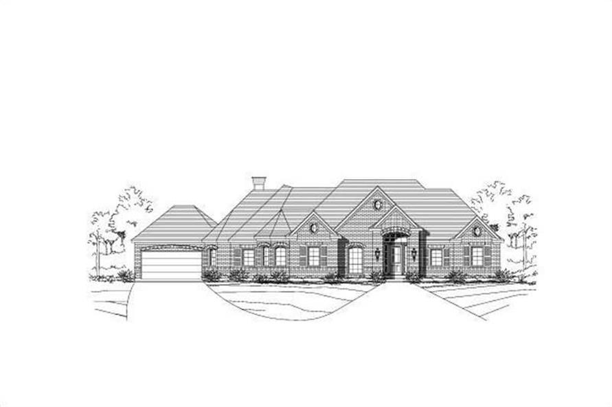 Main image for house plan # 16248