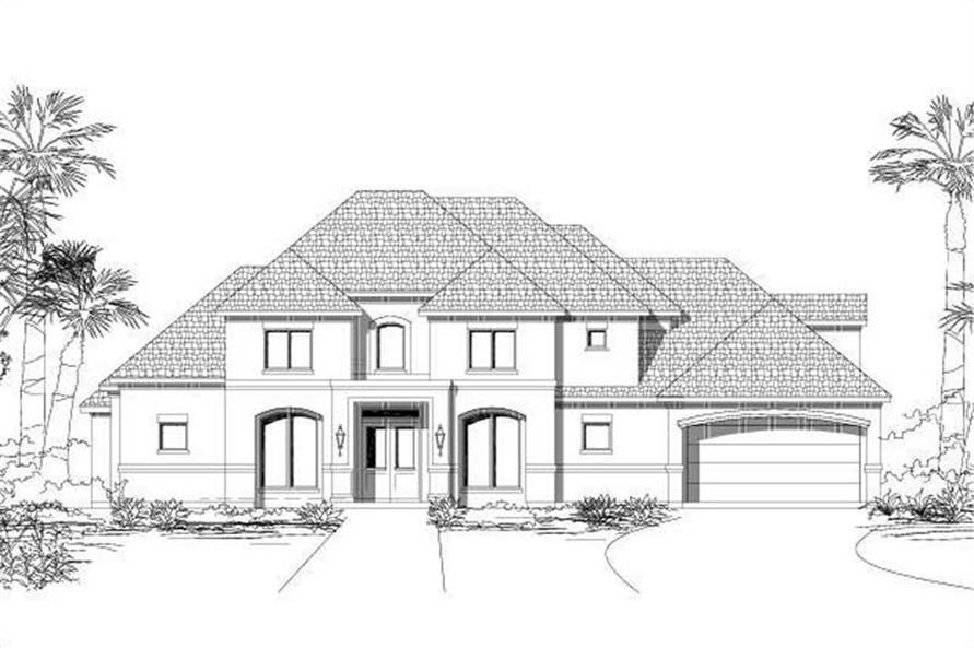 Main image for house plan # 16249