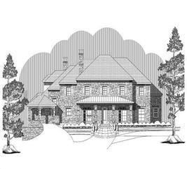 House Plan #156-1181
