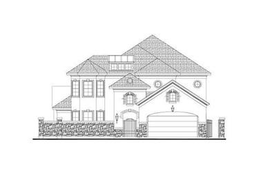3-Bedroom, 3510 Sq Ft Tuscan Home Plan - 156-1182 - Main Exterior