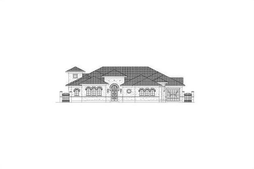Main image for house plan # 15854