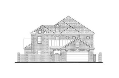 4-Bedroom, 3708 Sq Ft Luxury House Plan - 156-1194 - Front Exterior