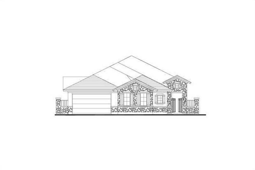 3-Bedroom, 2699 Sq Ft Home Plan - 156-1195 - Main Exterior