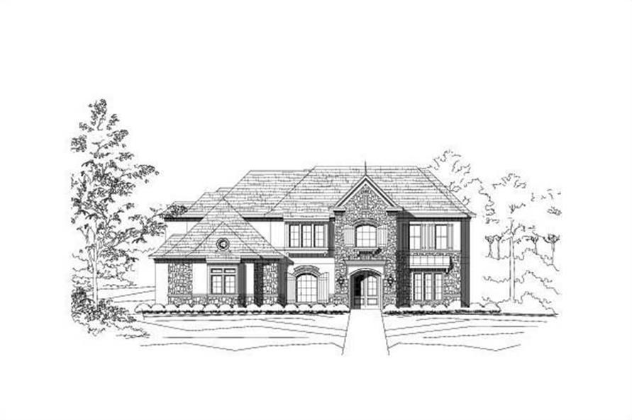 Main image for luxury house plan # 16358