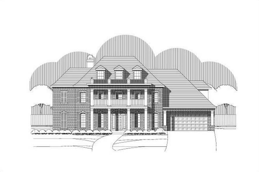 Main image for house plan # 16257