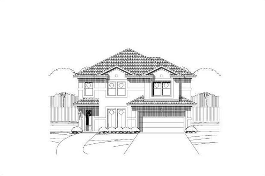 Main image for house plan # 16557