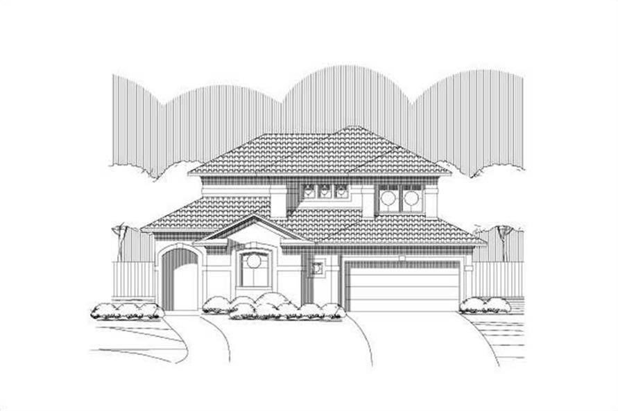 Main image for house plan # 16556
