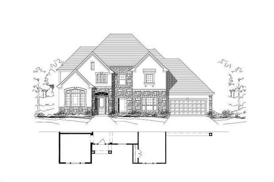 Main image for house plan # 16549