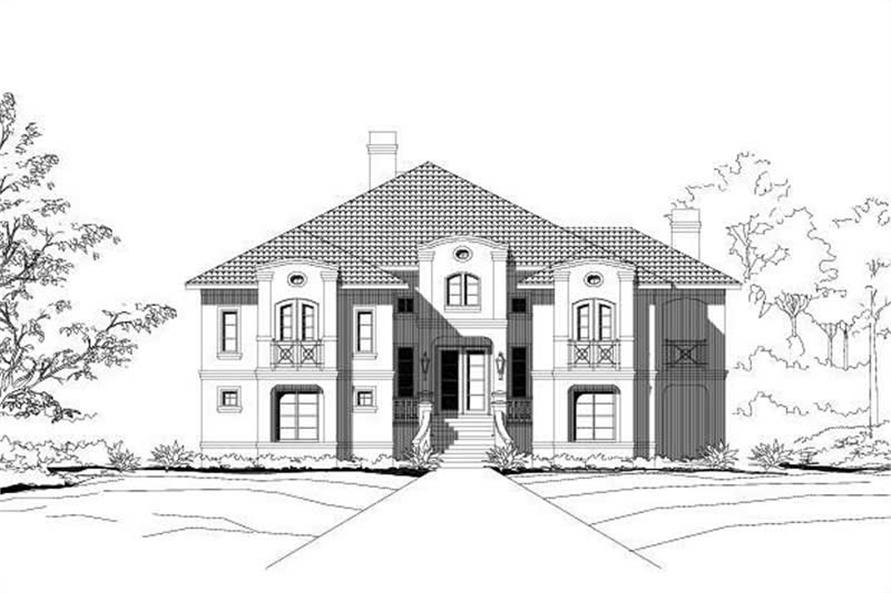 Main image for house plan # 16281