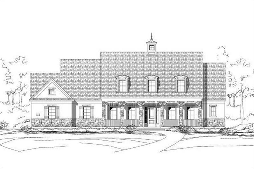 Main image for house plan # 16533