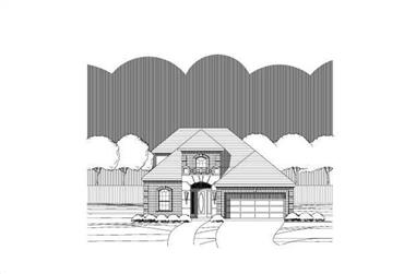 3-Bedroom, 2370 Sq Ft Traditional Home Plan - 156-1212 - Main Exterior