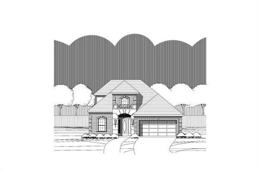 Main image for house plan # 16528