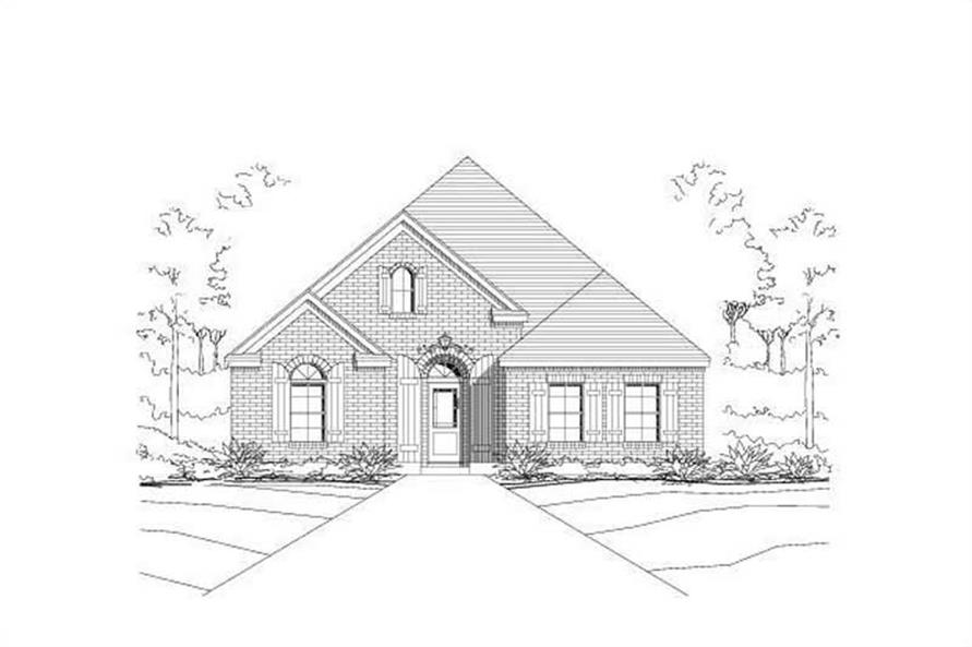 Main image for house plan # 16378