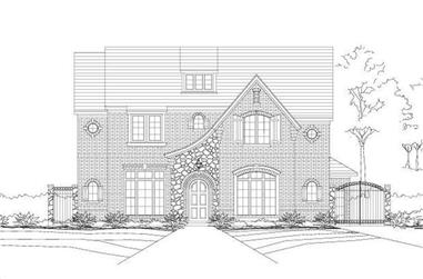 5-Bedroom, 5160 Sq Ft Craftsman House Plan - 156-1221 - Front Exterior