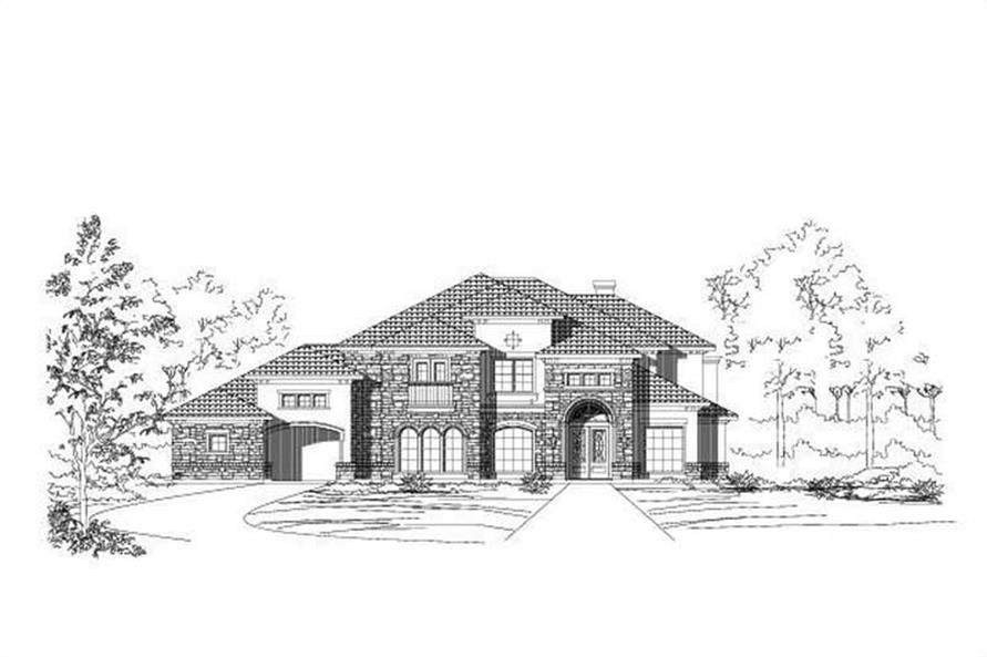 Main image for house plan # 16322