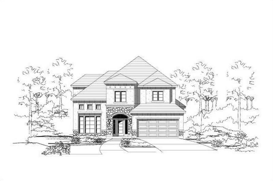 Main image for house plan # 16239