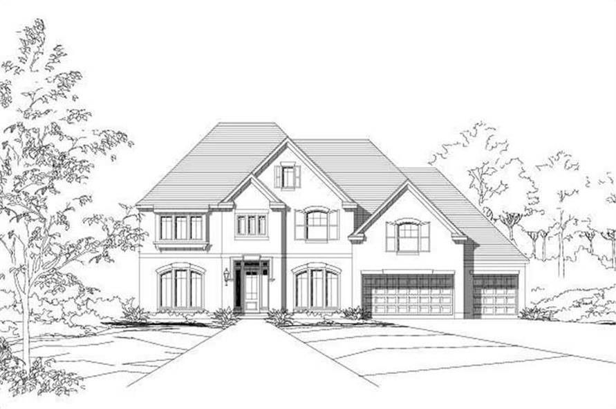 Main image for house plan # 16449