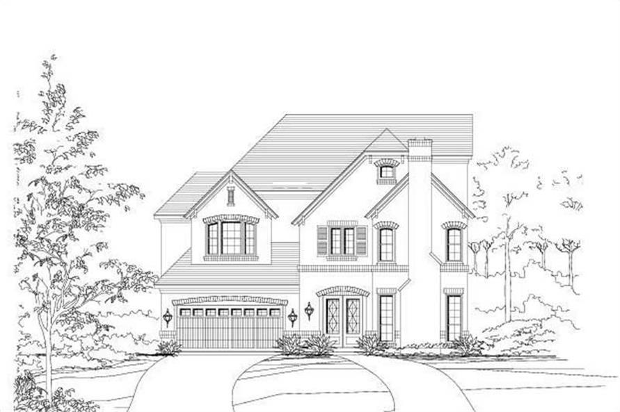 Main image for house plan # 16458