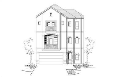 3-Bedroom, 2024 Sq Ft Traditional House Plan - 156-1240 - Front Exterior