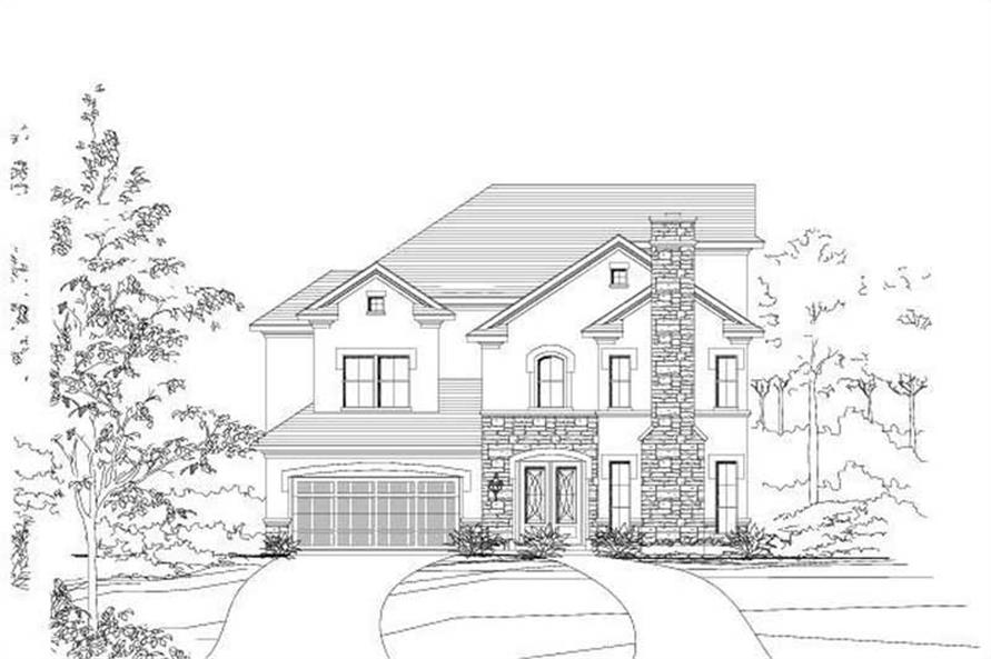 Main image for house plan # 16459